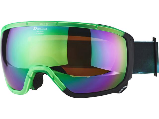 Alpina Scarabeo MM S3 goggles groen/zwart